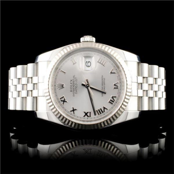 Rolex DateJust 18K/SS 36MM Wristwatch