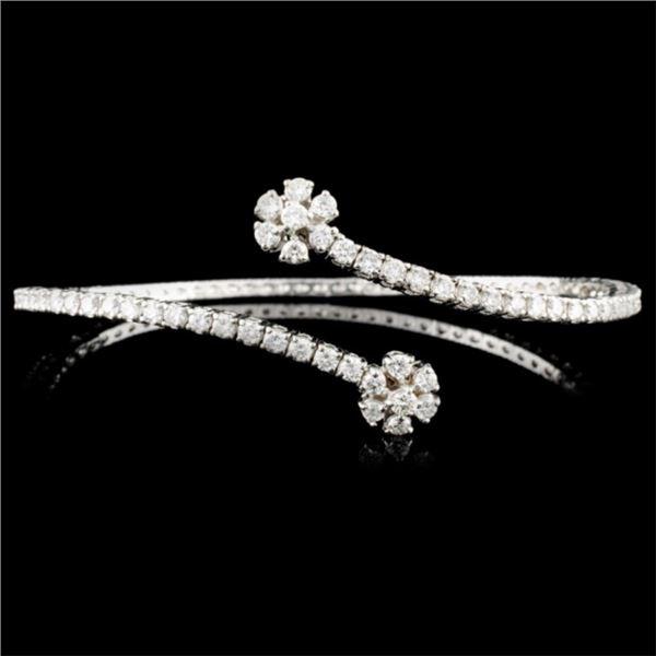 14K Gold 2.53ctw Diamond Bracelet