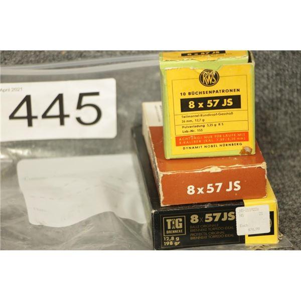 8x57 Ammo