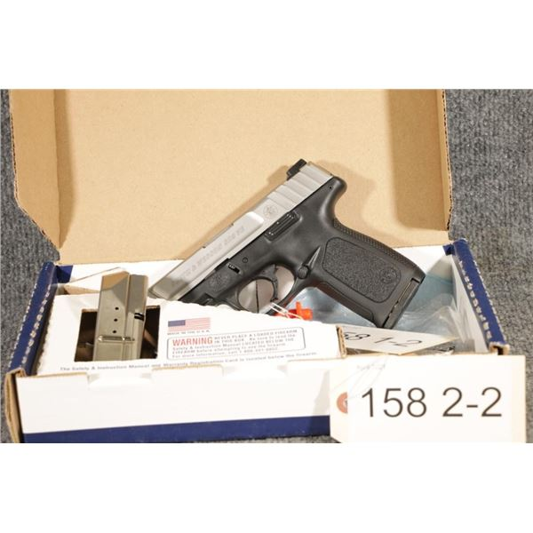 RESTRICTED Smith and Wesson SD9 VE