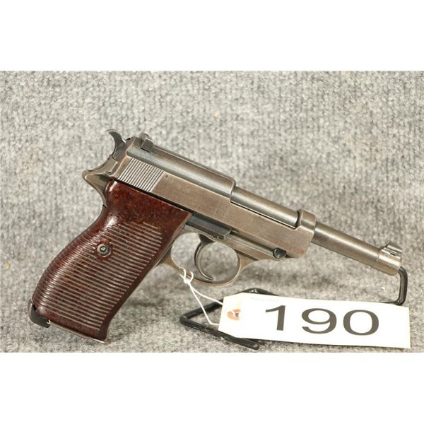 RESTRICTED Walther P38 PARTS GUN ONLY!!!