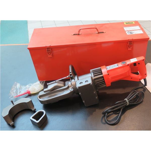 Werner-Newman #5 Grade 60 Rebar Bender HB-16W w/ Metal Case
