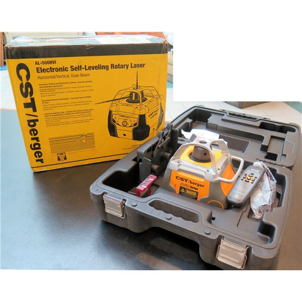 Calculated Industries Electronic Self-Leveling Rotary Laser AL-500HVI New in Box