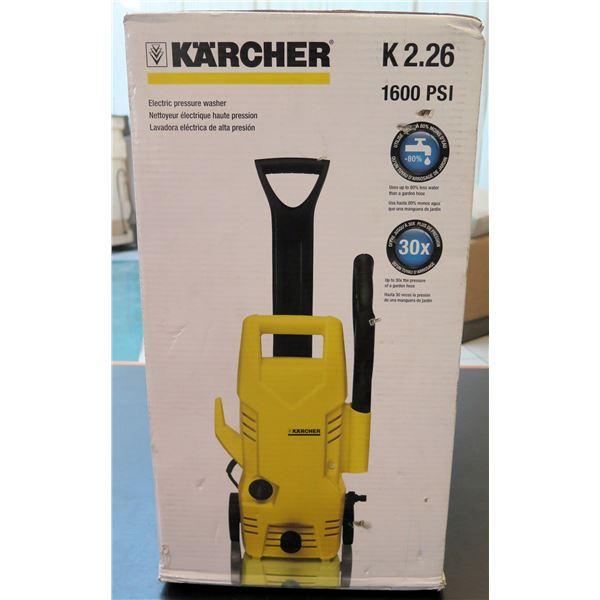 Karcher Electric Pressure Washer 1600 PSI Model K2.26 New in Box