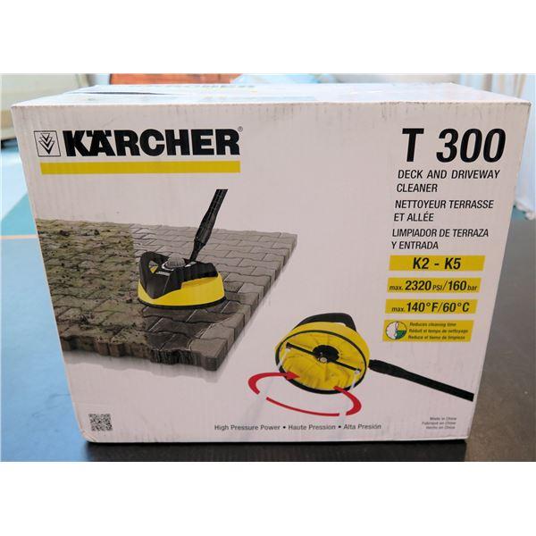 Karcher Deck & Driveway Cleaner Model T 300 K2-K5  New in Box