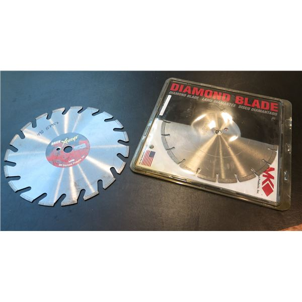 """MK Diamond Blade Circular Saw Blade in Case & Brick Xtreme Blade 14"""" Diameter"""