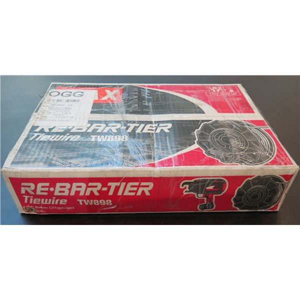 MAX Re-Bar-Tier Tiewire 50 Coils 21 Gauge TW898 New in Box