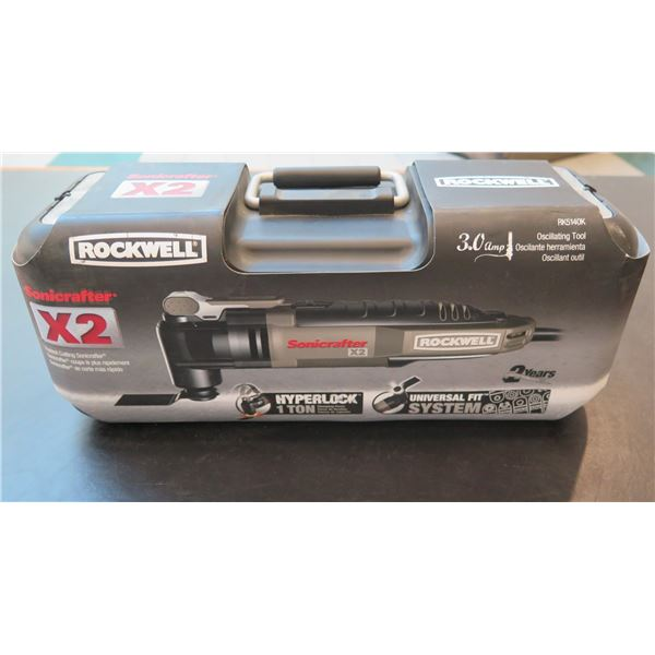Rockwell Sonicrafter X2 Universal Fit System Hyperlock 1 Ton New in Box