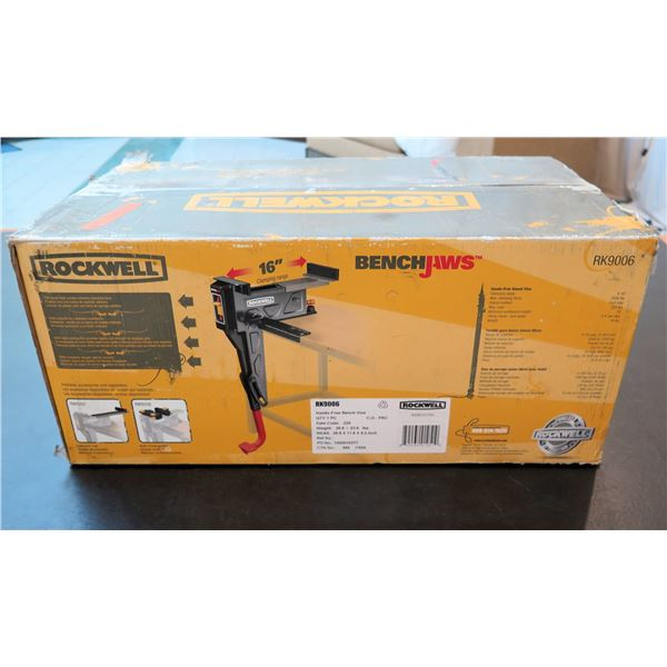 Rockwell BenchJaws Hands Free Bench Vise Model RK9006 New in Box
