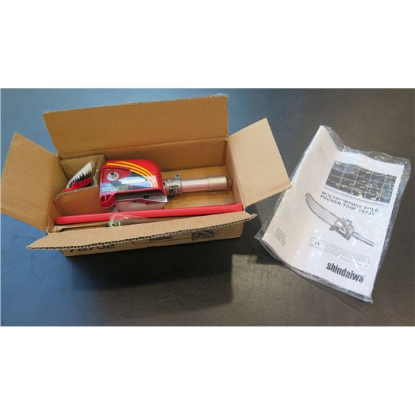 Shindaiwa Multi-Purpose Pole Pruner Tool Model 78702 New in Box