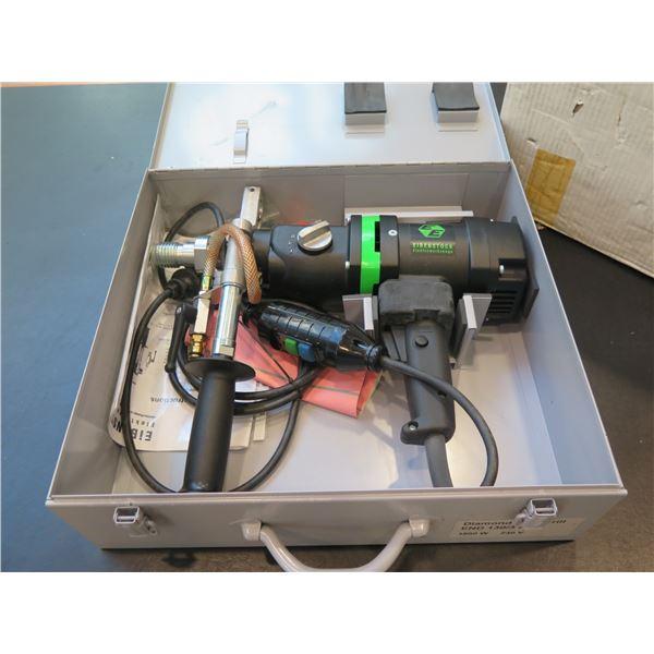 Ebenstock Diamond Core Drill in Metal Case Model ENDI130/3