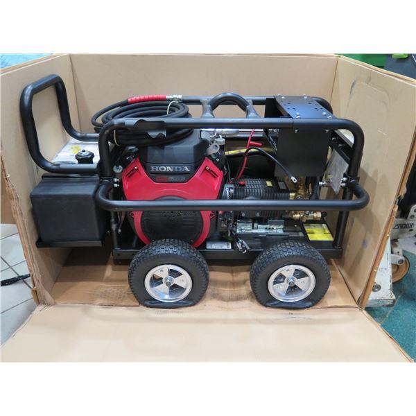 Be Pressure Washer 5000 PSI 5 GPM Honda Motor,  New in Box