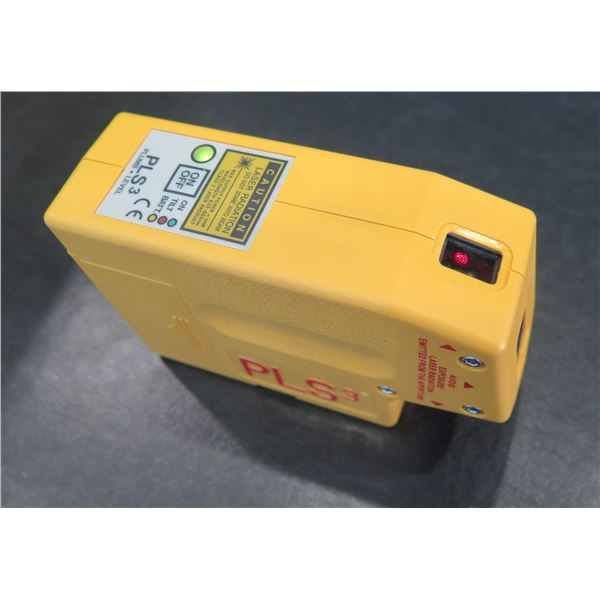 Pacific Laser Systems 3 Point Green Beam Self Leveling Laser PLS3 (Demo/Display Unit)