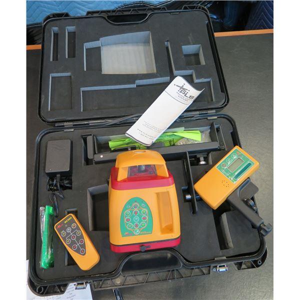 Pacific Laser Systems HVR500G w/ PLS Laser Detector HVD501 (Demo/Display Unit)
