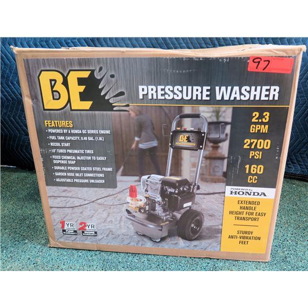 BE Pressure Washer 5700 PSI 2.3 GPM w/ Honda Motor New in Box