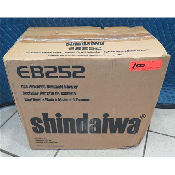 Shindaiwa Gas Powered Handheld Blower EB252 New in Box