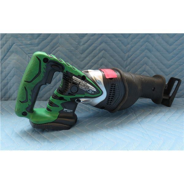 Hitachi 18V Cordless Reciprocating Saw Model CR 18DL