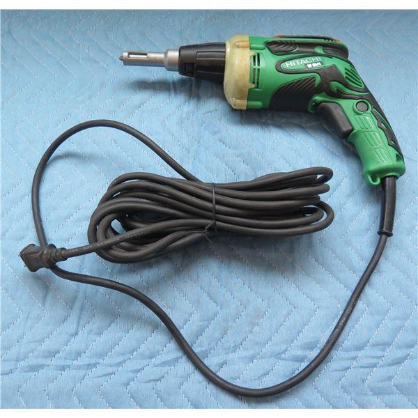Hitachi Drywall Screw Driver 120V 60Hz Model 6V4