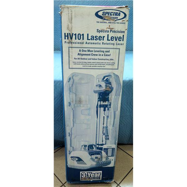 Spectra Precision HV101 Professional Laser Level Model 1282-1030 New in Box