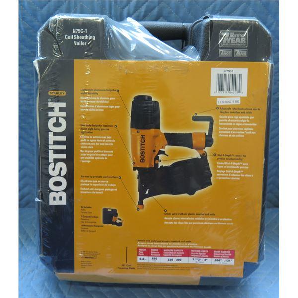 Stanley Bostitch Coil Sheathing Nailer Model N75C-1 New in Box