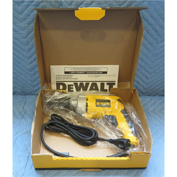 DeWalt VSR Versa-Clutch Screwdriver Type 4 Model DW268 New in Box