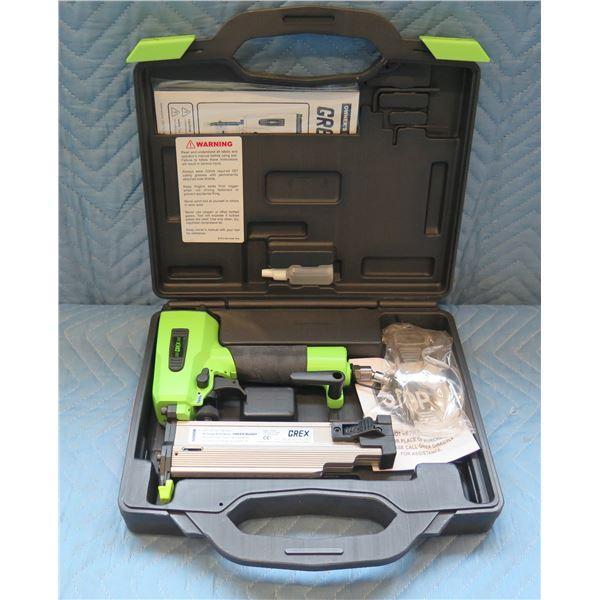 GREX Green Buddy 18 Gauge Brad Nailer Model 1850GB New in Hard Case