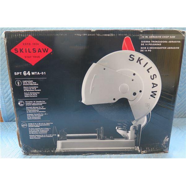 "SkilSaw 14"" Abrasive Chop Saw Model SPT 64 MTA-01 New in Box"