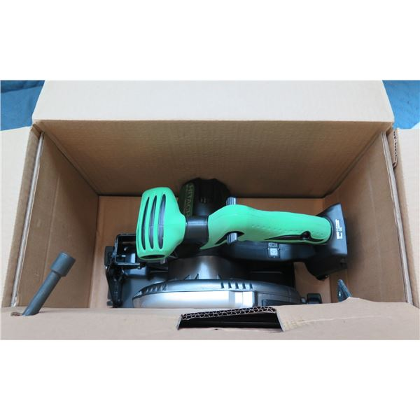 "Hitachi 165mm 6-1/2"" Cordless Circular Saw  Model C 18DSL New in Box"