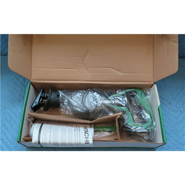 Hitachi 18V Cordless Reciprocating Saw Model CR 18DSL New in Box