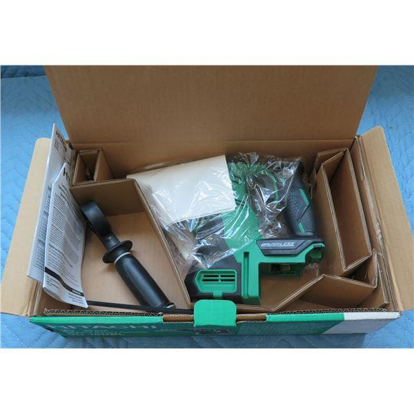 Hitachi 18V 26mm Cordless Rotary Hammer Model DH 18DBL New in Box