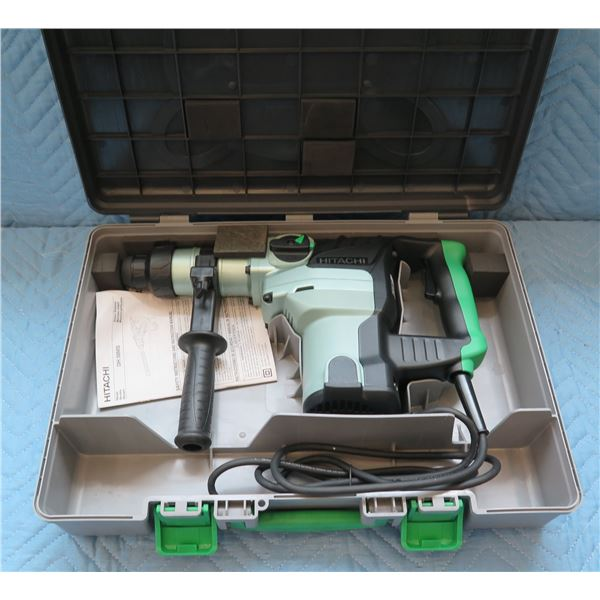 Hitachi Rotary Hammer Model DH 38MS in Hard Case