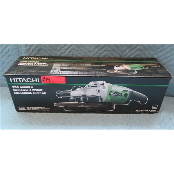 "Hitachi 7"" 180mm Disc Grinder Model G18SS New in Box"