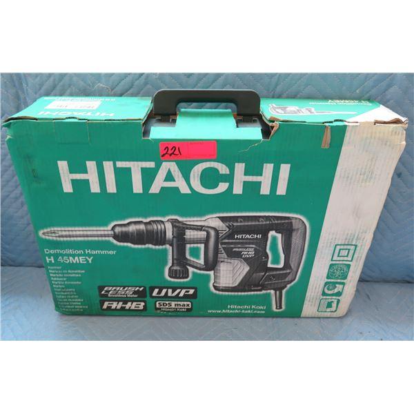 Hitachi Demolition Hammer Model H45MEY New in Box
