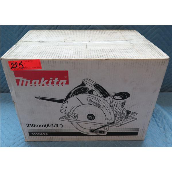 """Makita 8-1/4"""" 210mm Magnesium Circular Saw Model 5008MGA New in Box"""