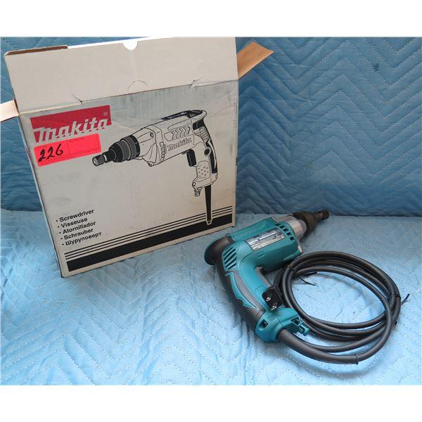 Makita Electric Screwdriver 120V Model FS2701 New in Box