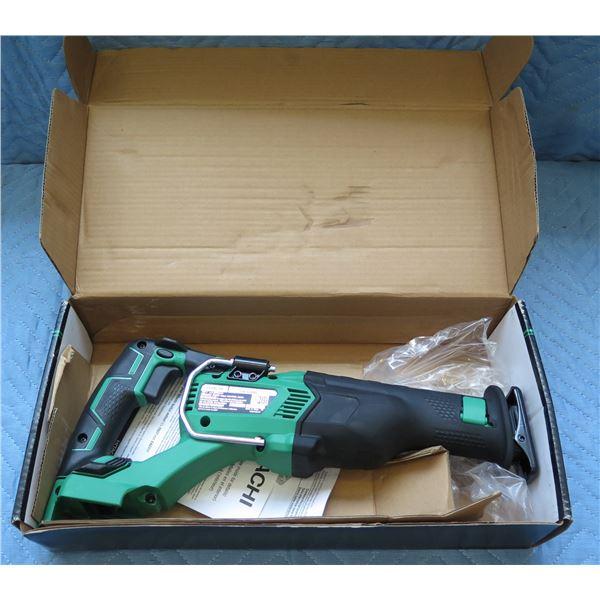 Hitachi 18V Cordless Reciprocating Saw Model CR 18DBL New in Box