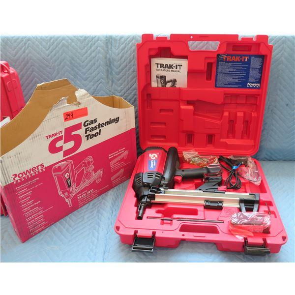 Powers Fasteners Trak-It C5 Gas Fastening Tool Model T1-CS(DT) New in Box