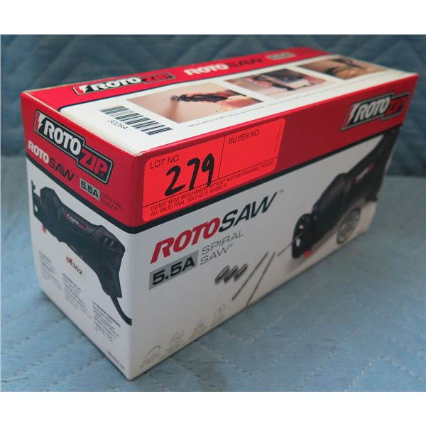RotoZip RotoSAW 5.5A Spiral Saw Model SS355-10 New in Box