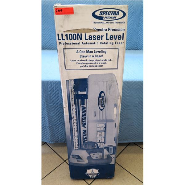 Spectra Precision Professional Laser Level Model LL100N New in Box