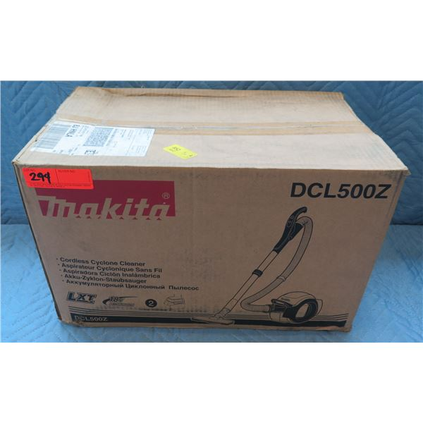 Makita LXT Cordless Cyclone Cleaner Model DCL500Z New in Box