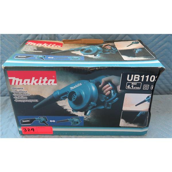 Makita Handheld 6.8 Amp Blower Model UB1103 New in Box