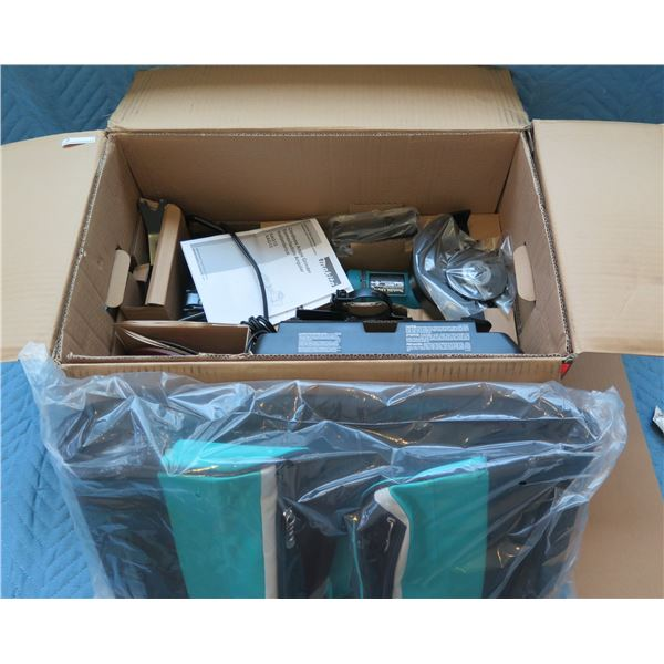 """Makita LXT Brushless 7"""" Paddle Switch Angle Grinder Model XAG12PT1 New in Box"""