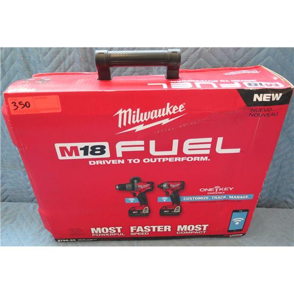 Milwaukee M18 Fuel w/ One Key 2-Tool Combo Kit Model 2796-22 New in Box
