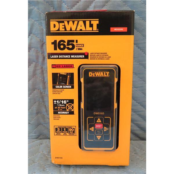 DeWalt Laser Distance Measure 165' Range Model DW0165 New in Box