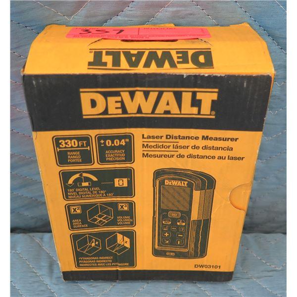 DeWalt Laser Distance Measure 165' Range Model DW03101 New in Box