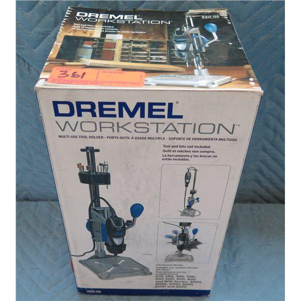 Dremel Workstation Multi-Use Tool Holder Model 220-01 New in Box