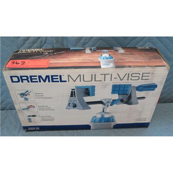 Dremel Multi-Vise Portable Rotary Vise/Tool Holder Model 2500-01 New in Box