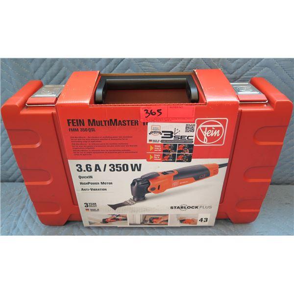 Fein Starlock Plus MultiMaster Top Multi-Tool Model FMM 350 QSL New in Box