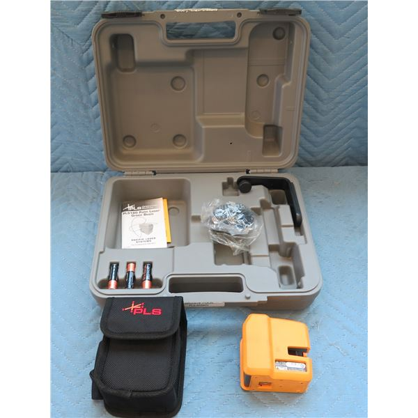 Pacific Laser Systems Laser Green Tool PLS180 New in Hard Case