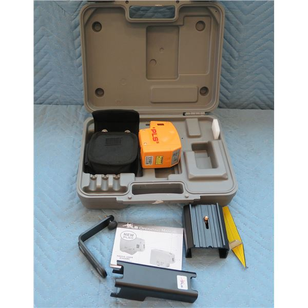 Pacific Laser Systems 5 Point Multi-Function Laser PLS5 in Hard Case